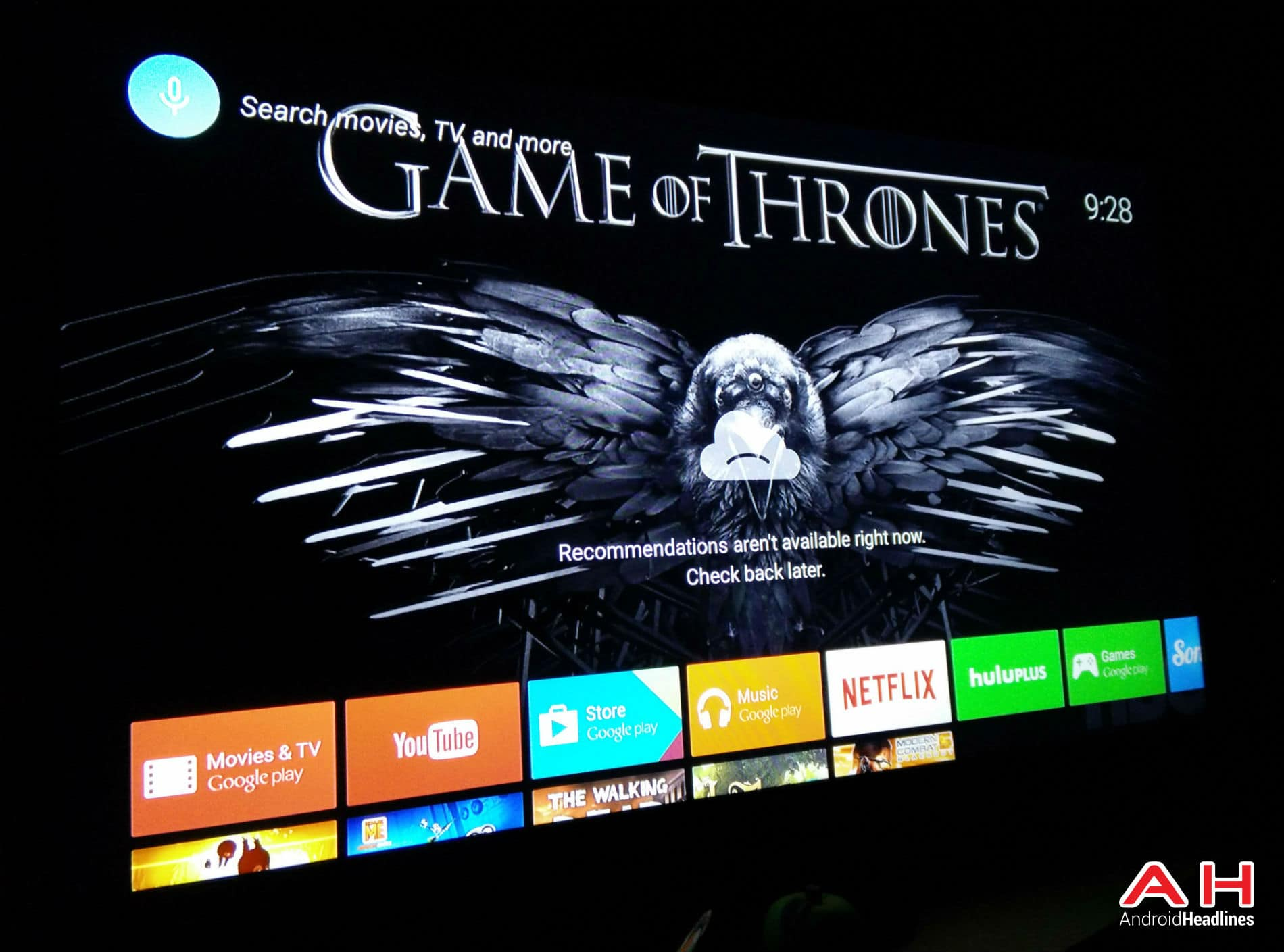 Android TV Notif AH