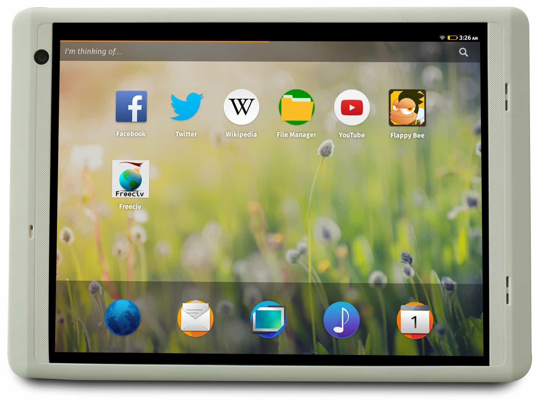 Firefox OS home screen MIPS PowerVR