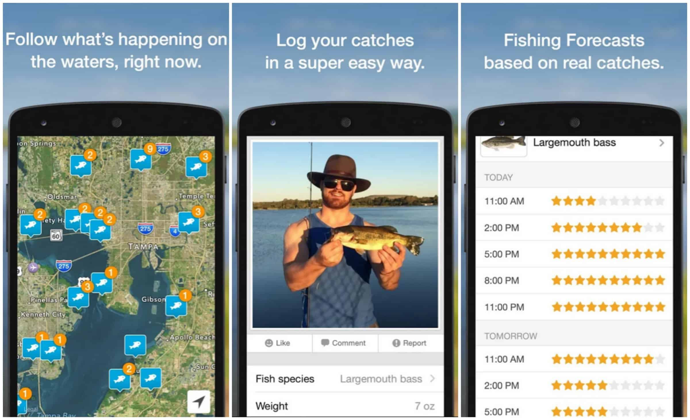 Best fishing apps 2015 for Best fishing apps