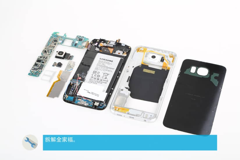 Gaaxy S6 Teardown 01