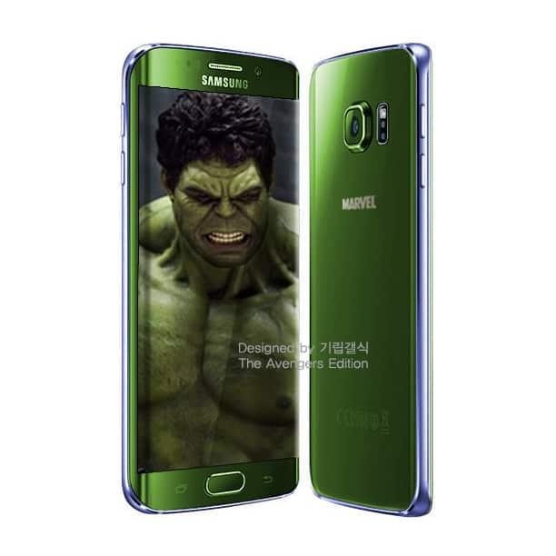 Galaxy S6 Avengers 5