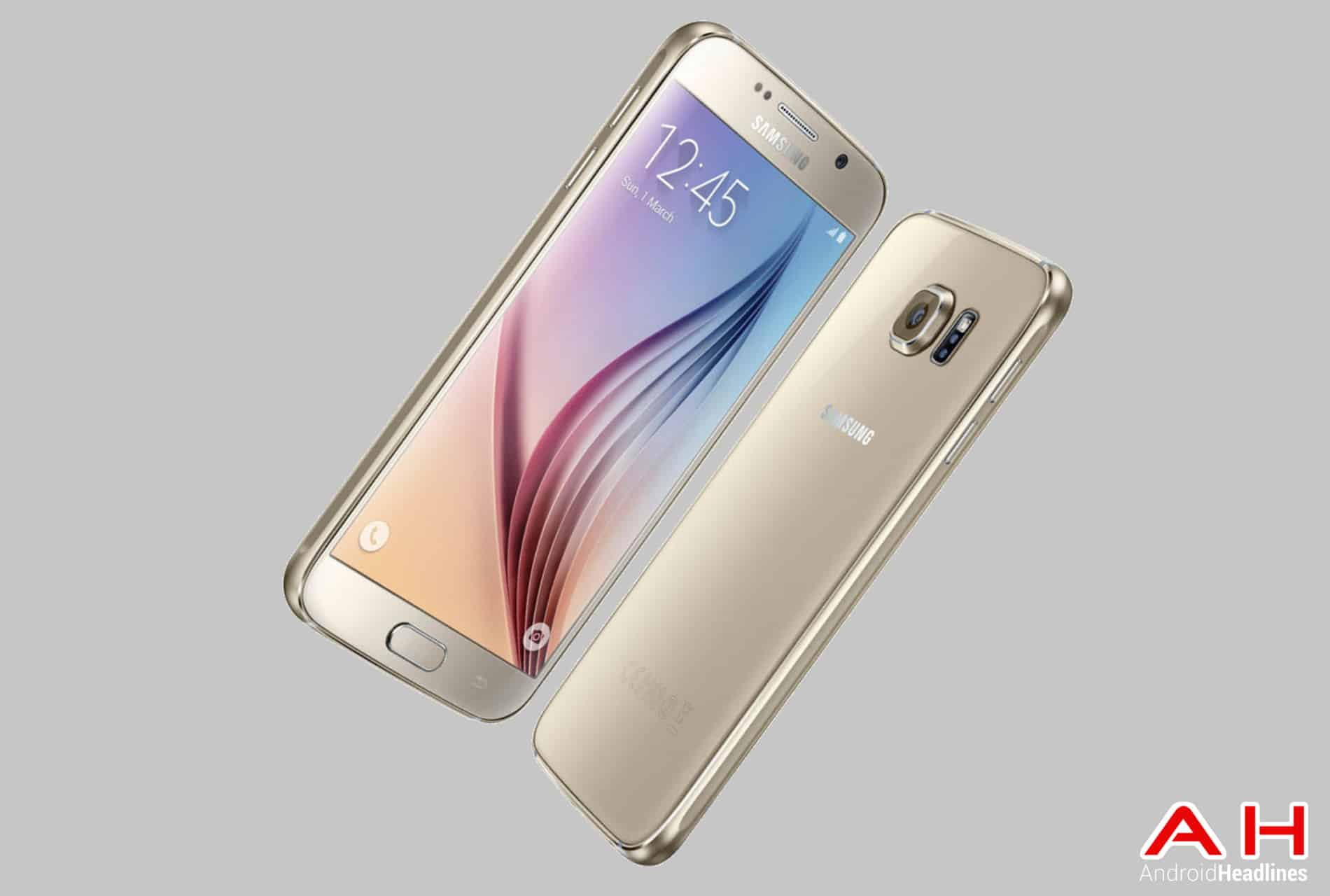 Galaxy S6 Platinum Gold cam AH