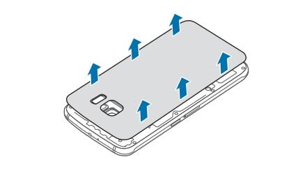 Galaxy S6 Remove Battery 1