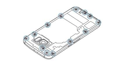 Galaxy S6 Remove Battery 2
