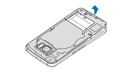 Galaxy S6 Remove Battery 3