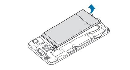 Galaxy S6 Remove Battery 5