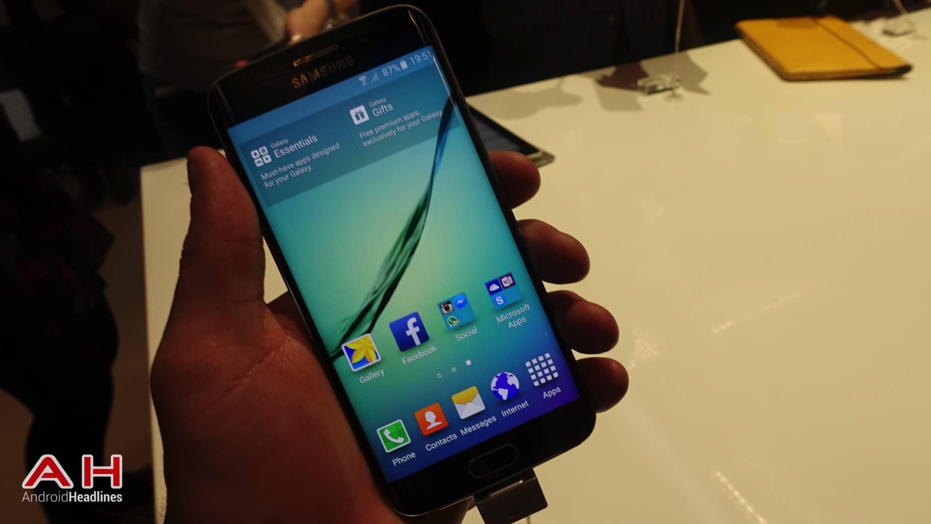 Galaxy S6 S6 Edge Hands On AH 13