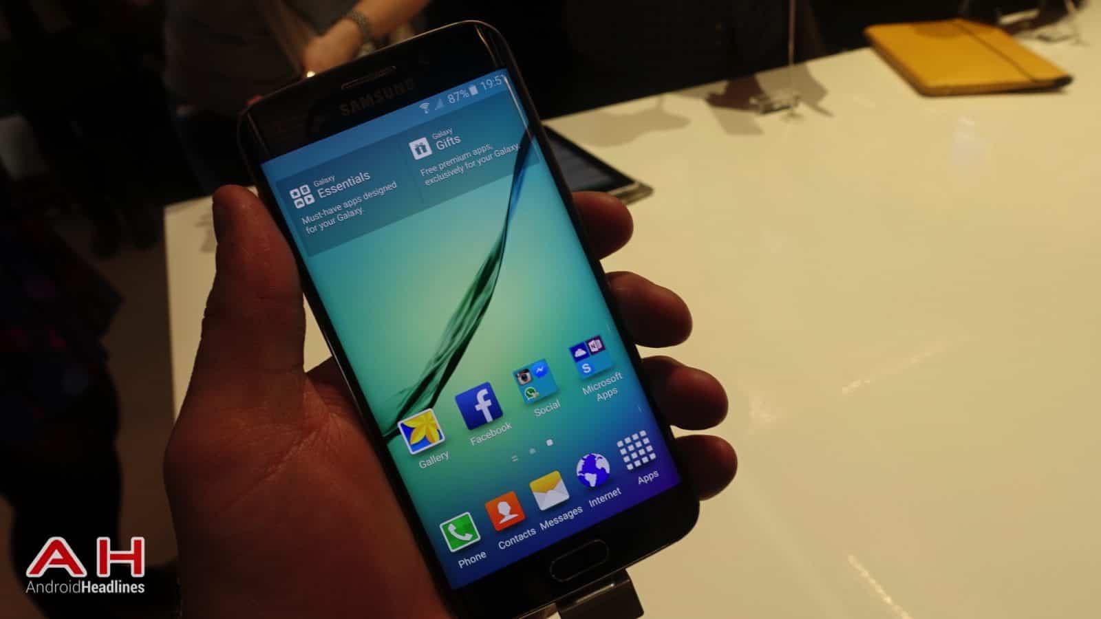 Galaxy S6 S6 Edge Hands On AH 14