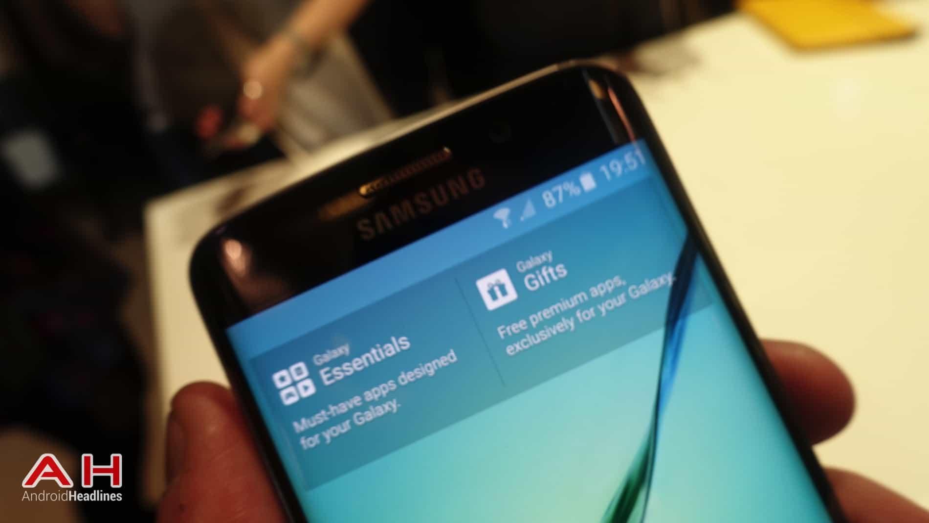 Galaxy S6 S6 Edge Hands On AH 15