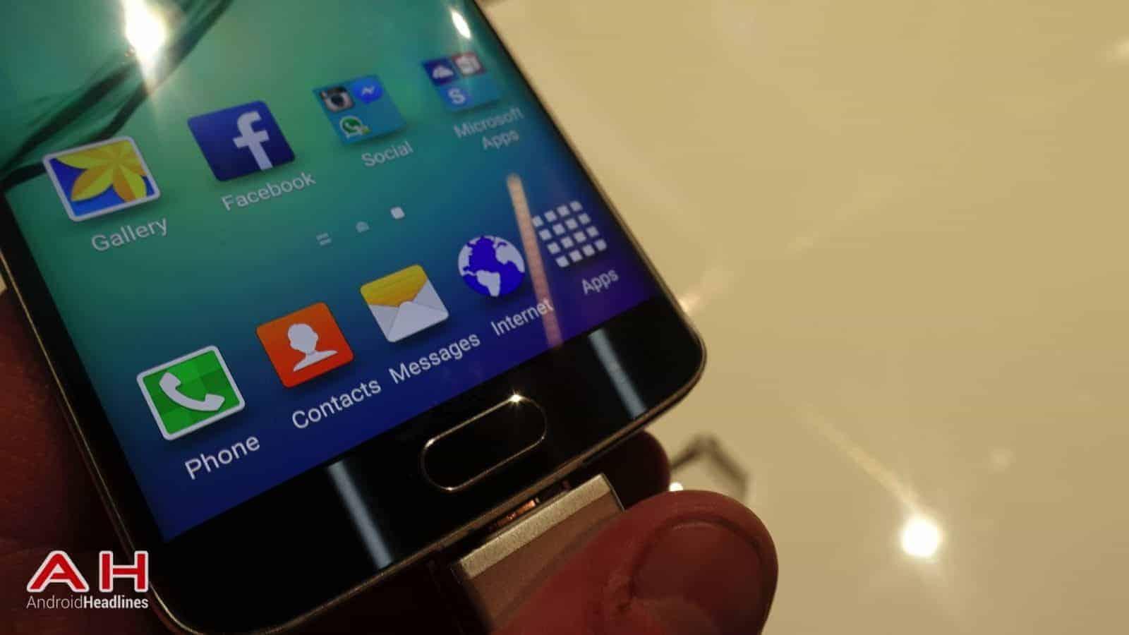 Galaxy S6 S6 Edge Hands On AH 19