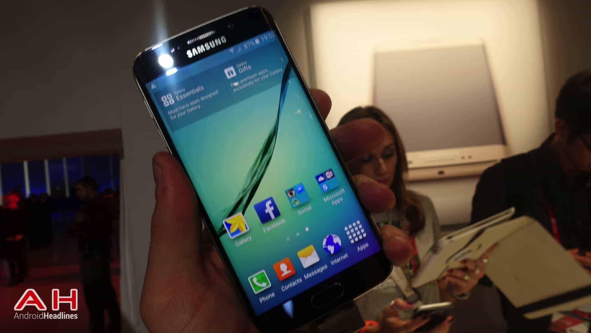 Galaxy S6 S6 Edge Hands On AH 28