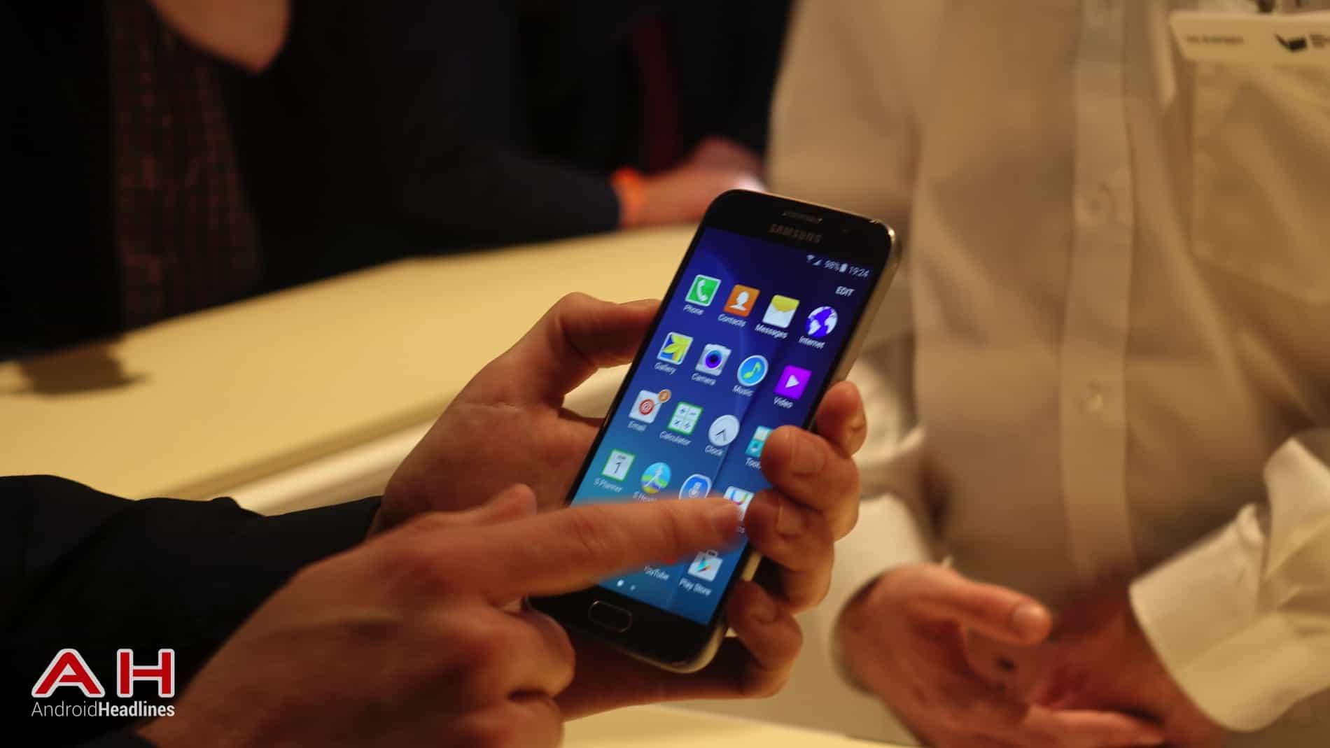 Galaxy S6 S6 Edge Hands On AH 5