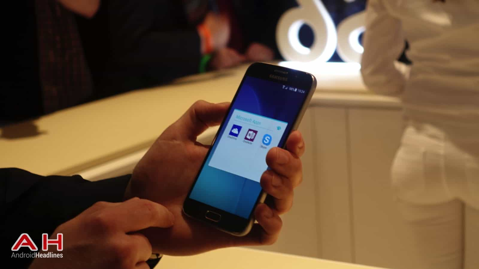 Galaxy S6 S6 Edge Hands On AH 6