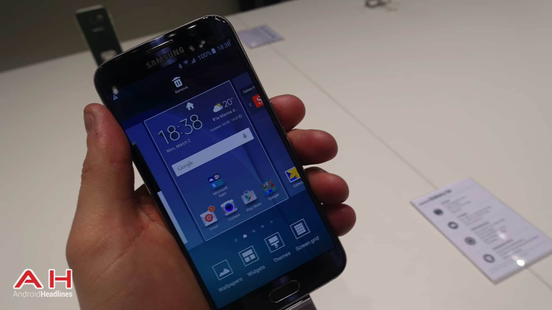 Galaxy S6 and Galaxy S6 Edge MWC AH 15