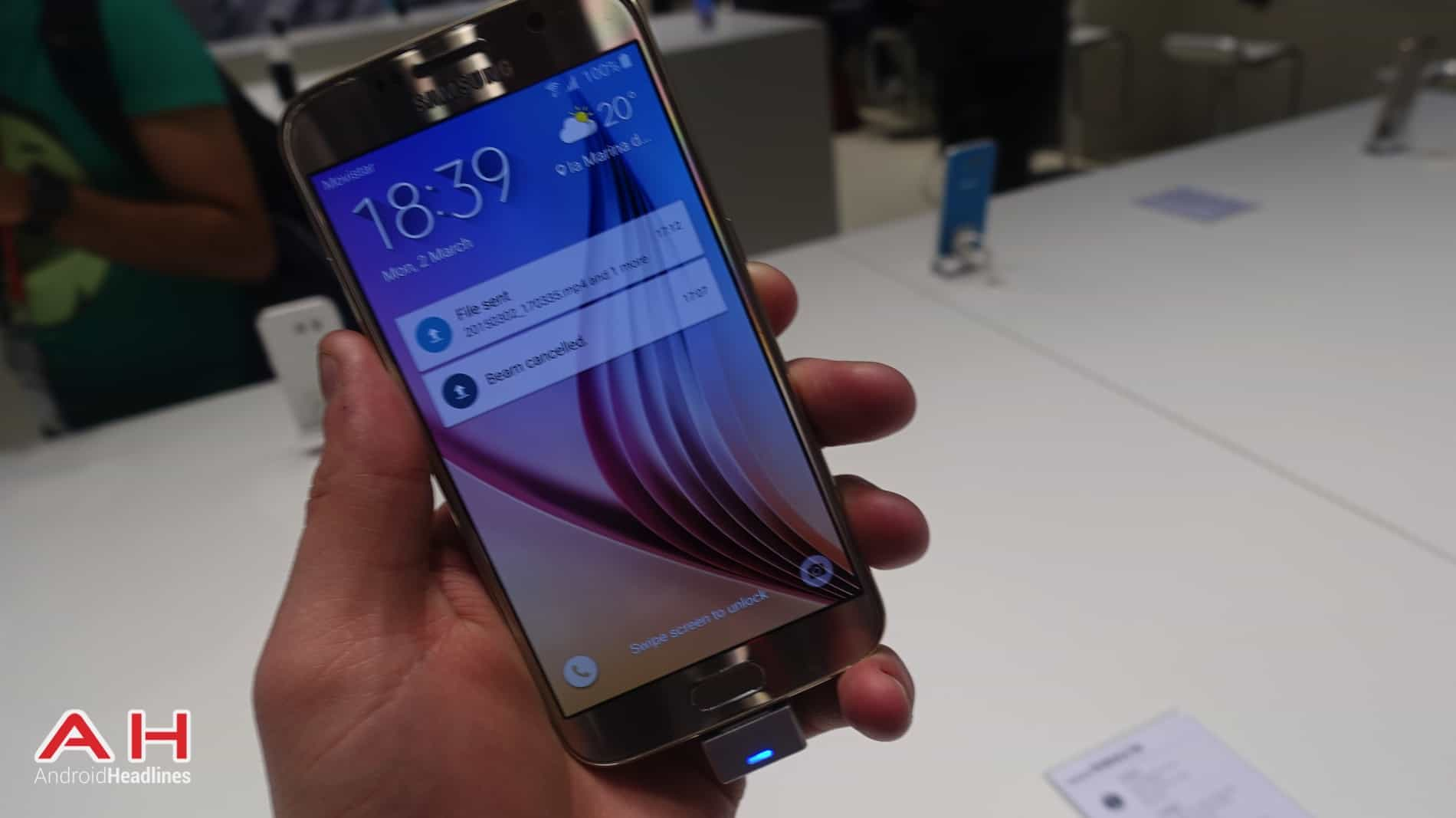 Galaxy S6 and Galaxy S6 Edge MWC AH 16