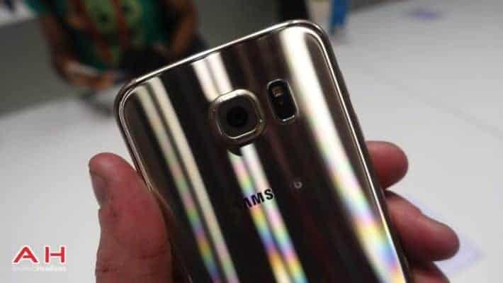 Samsung Galaxy S6 /S6 Edge Platinum Gold on WIND Mobile