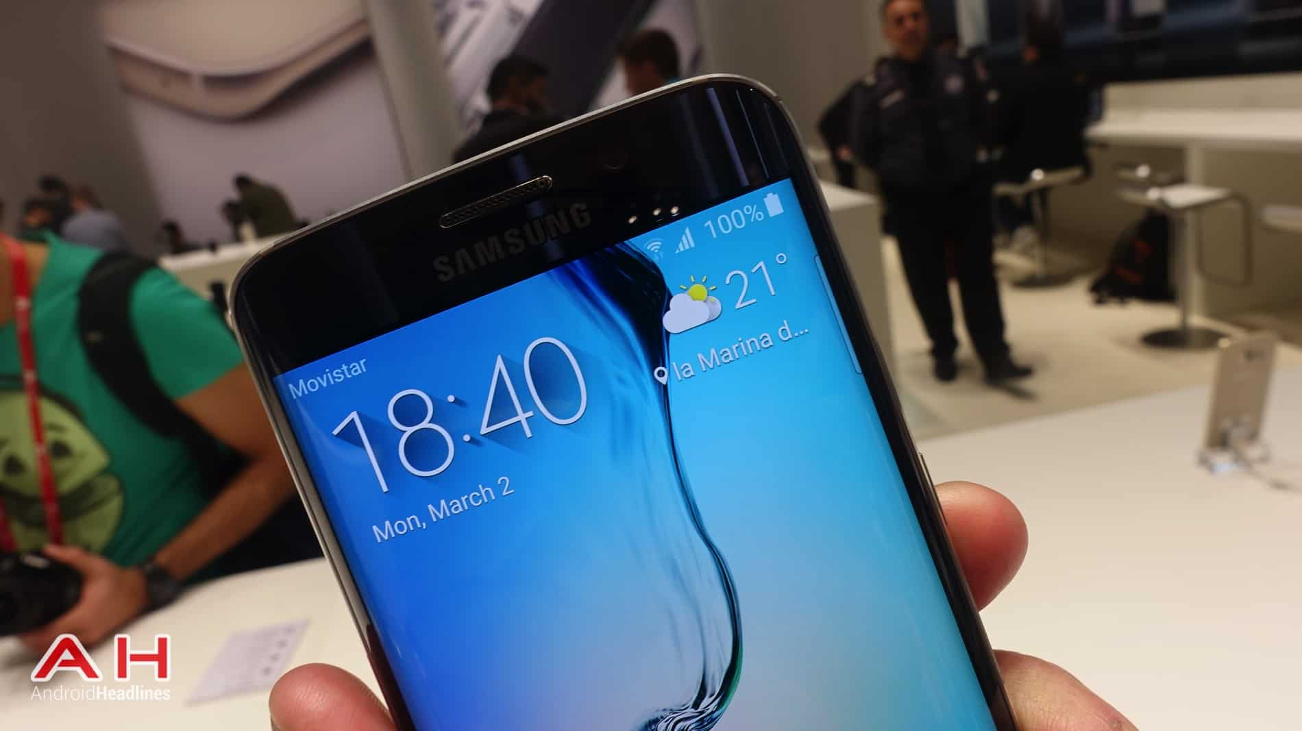 Galaxy S6 and Galaxy S6 Edge MWC AH 23