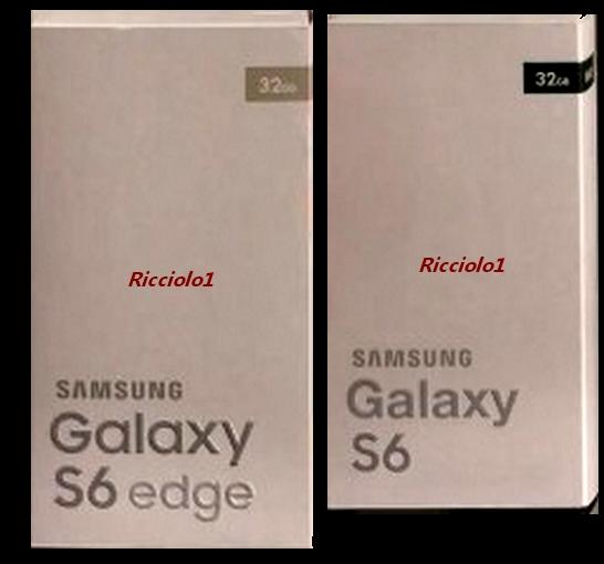 Galaxy S6 and S6 Edge alleged retail packaging