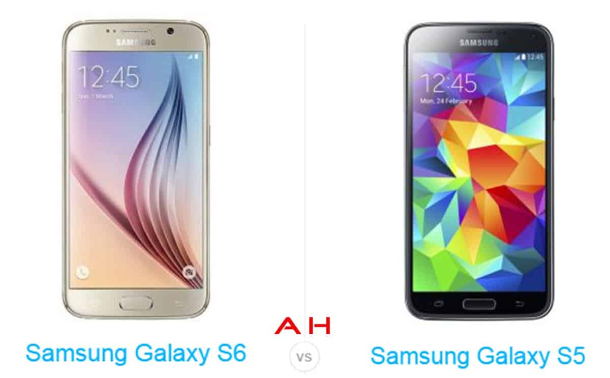 Galaxy S6 vs Galaxy S5 cam AH