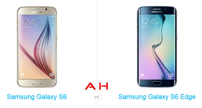 Phone Comparisons: Samsung Galaxy S6 and Galaxy S6 Edge