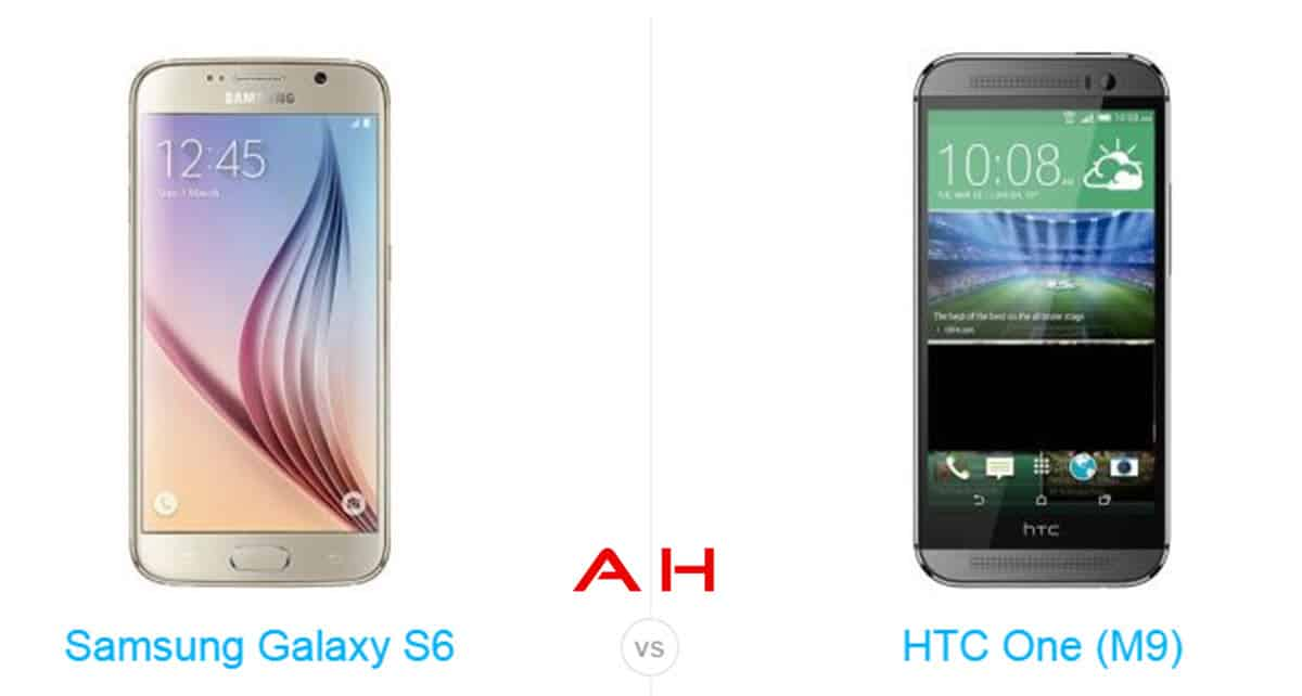 Galaxy S6 vs HTC One M9 cam AH