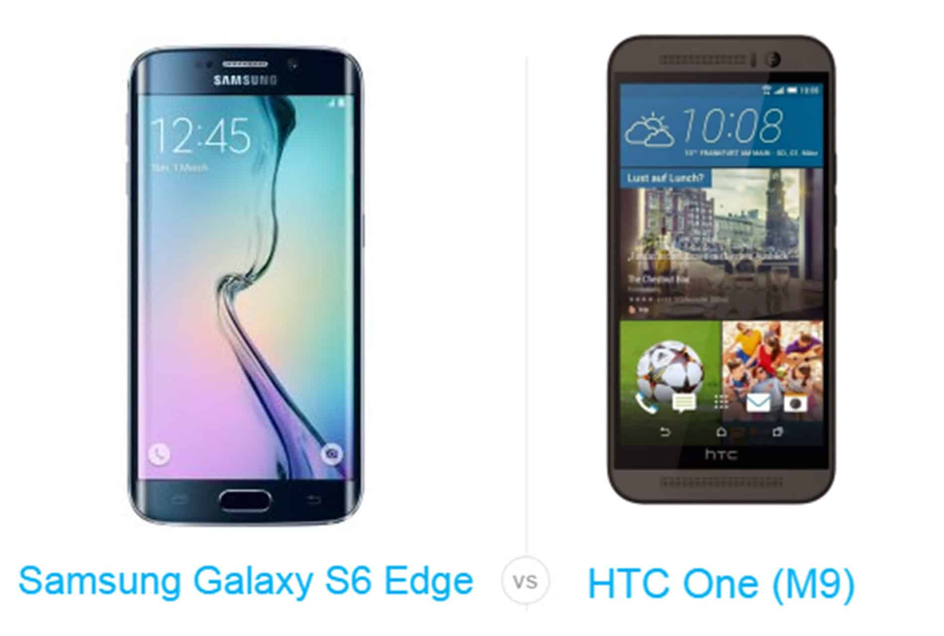 Galaxy S6 vs HTC One M9 cam2 AH