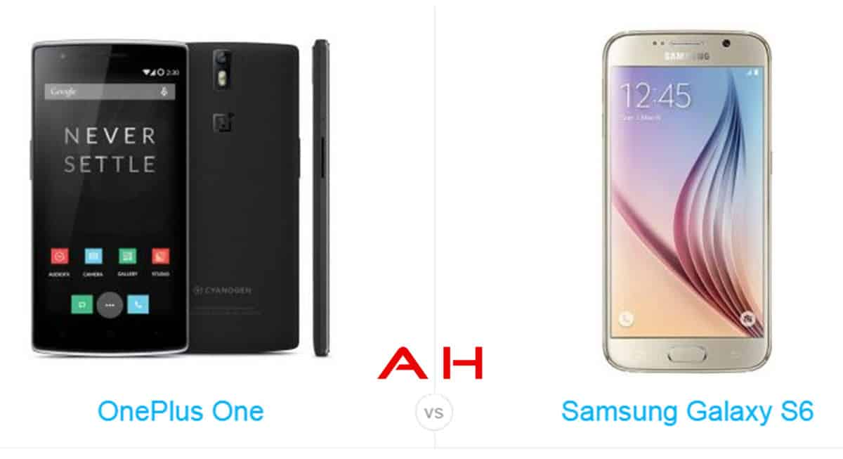 Galaxy S6 vs OnePlus One cam AH