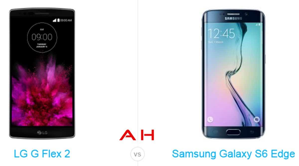 Galaxy s6 Edge vs LG G Flex 2 cam AH