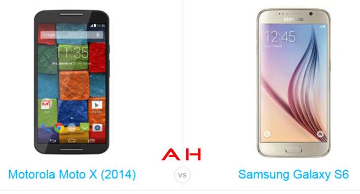 Phone Comparisons: Moto X (2014) vs Samsung Galaxy S6