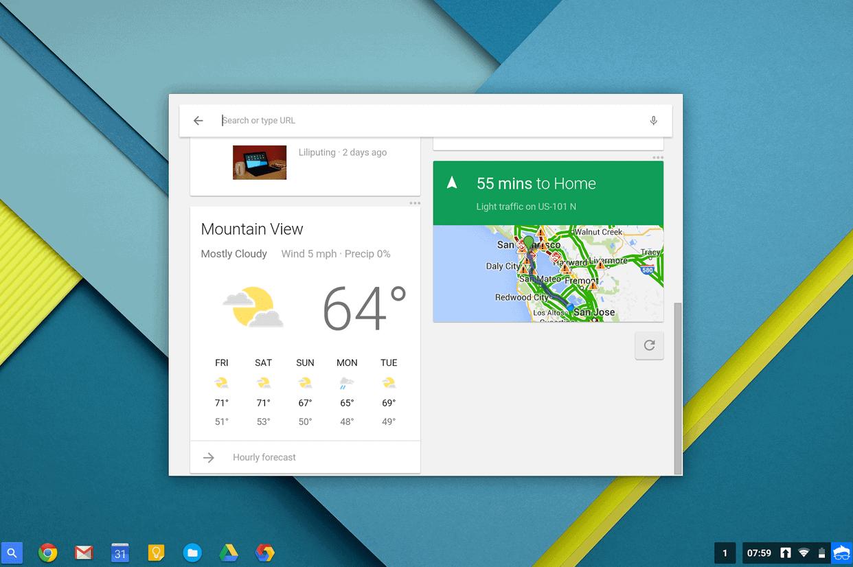 Google Now Beta2