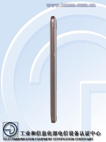 HTC E9pw Right Profile