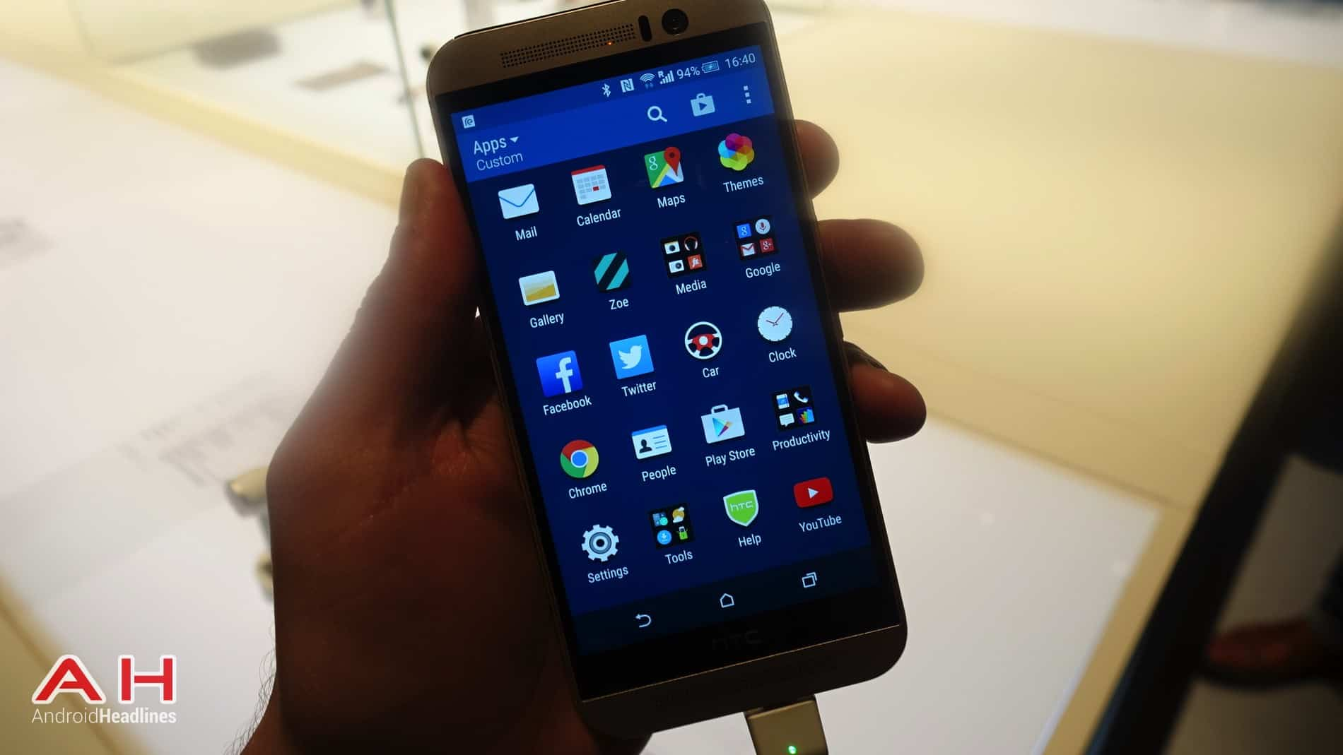 HTC One M9 Hands On AH 10