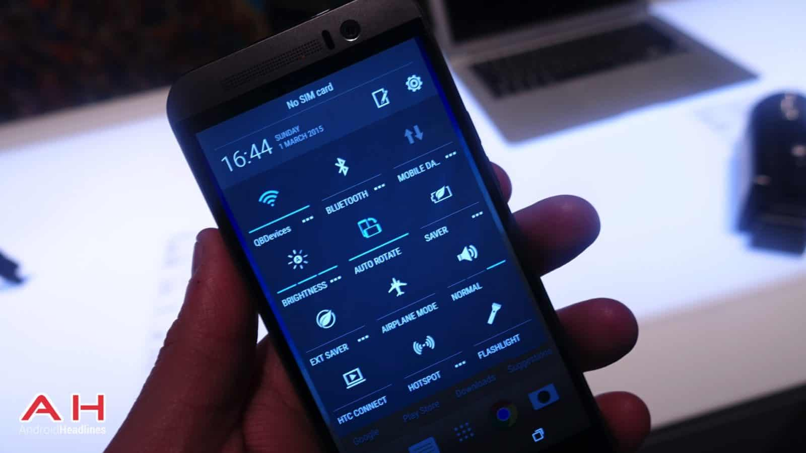 HTC One M9 Hands On AH 21