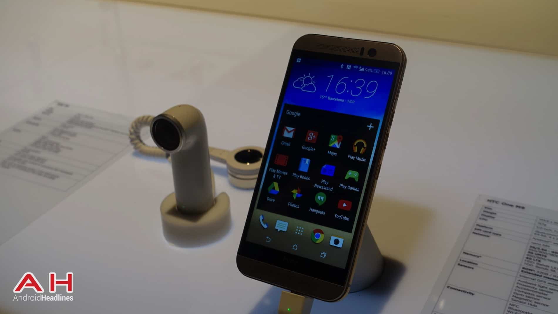 HTC One M9 Hands On AH 3