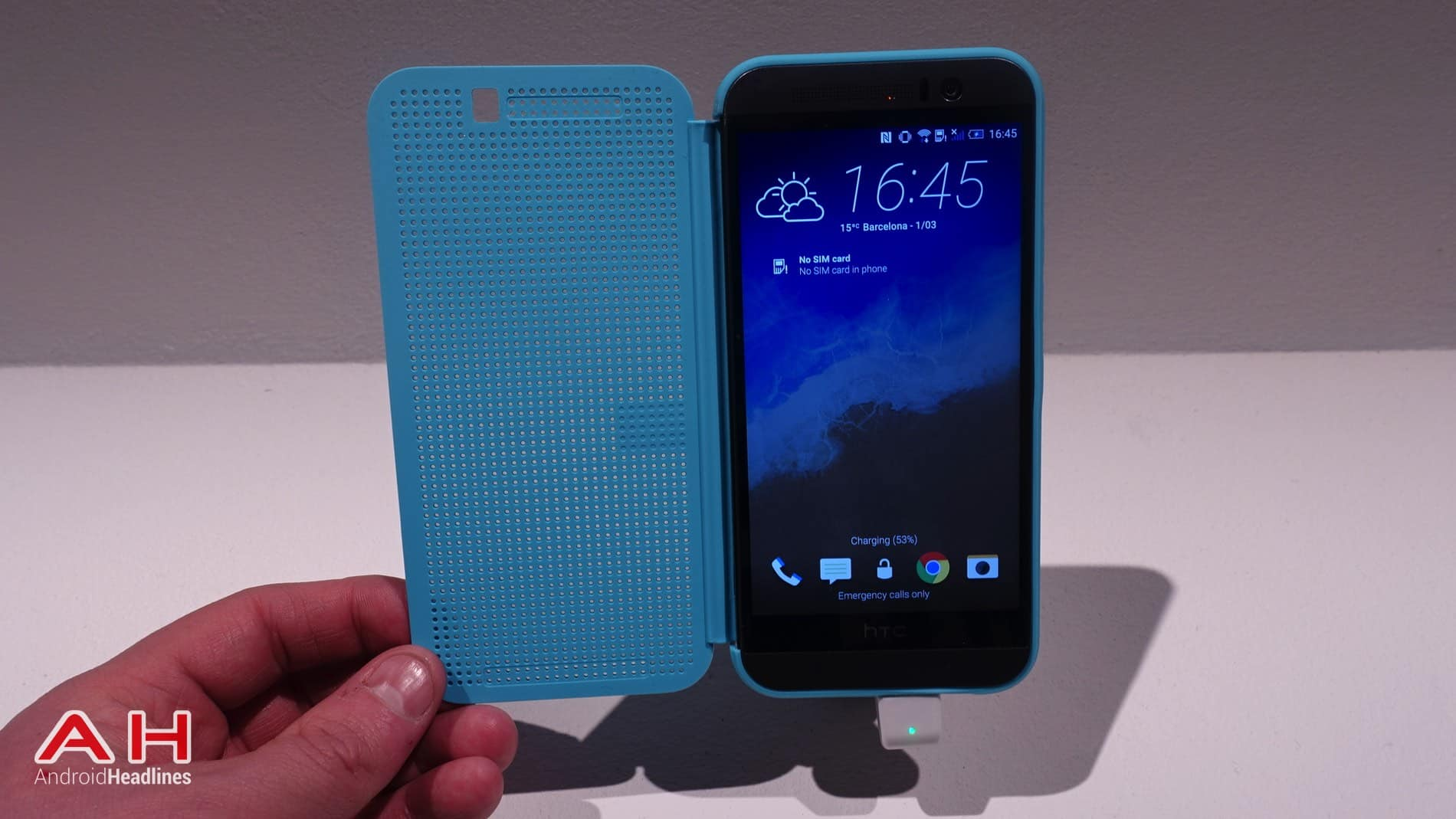 HTC One M9 Hands On AH 35
