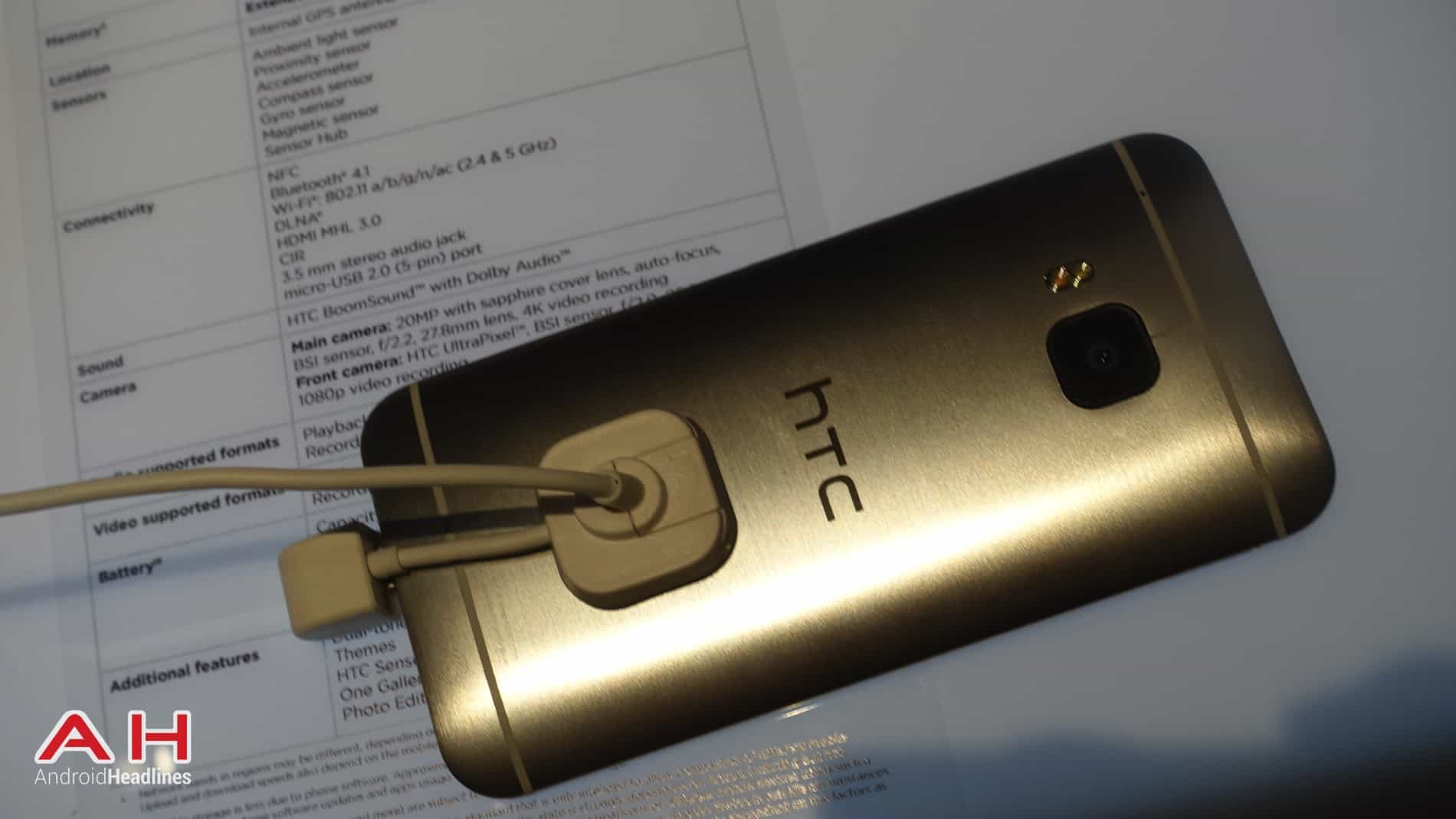 HTC One M9 Hands On AH 4