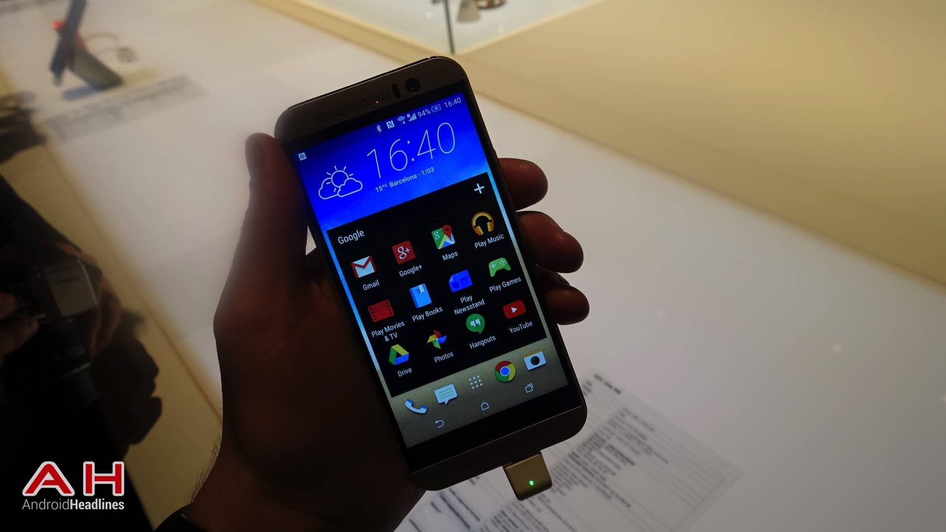 HTC One M9 Hands On AH 5