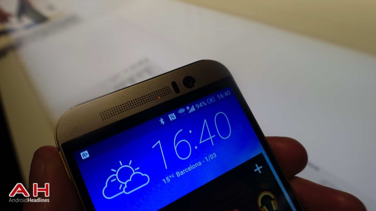 HTC One M9 Hands On AH 7