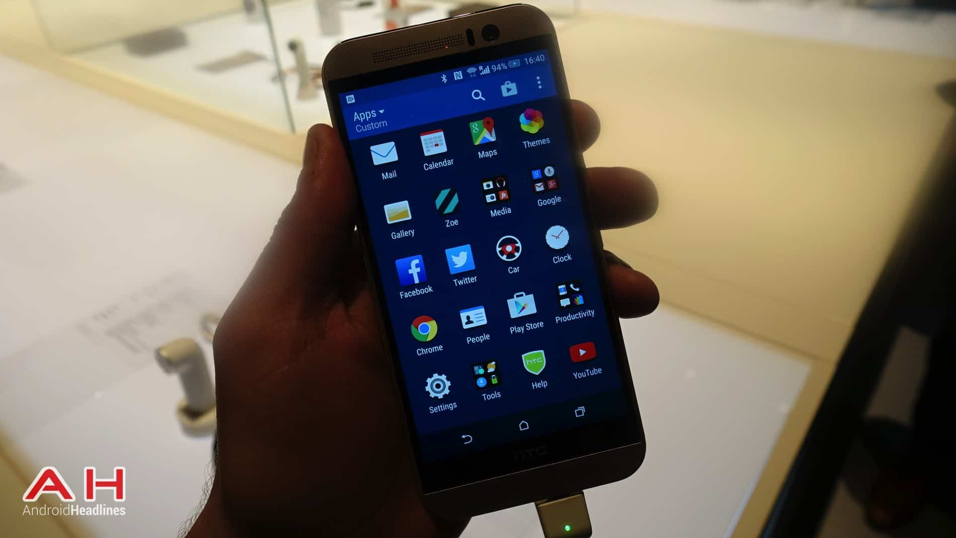HTC One M9 Hands On AH 9