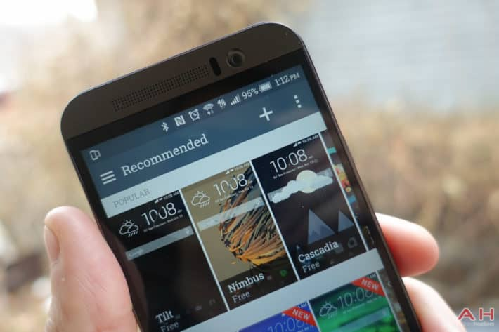 A Closer Look: HTC's Theme App on the One M9