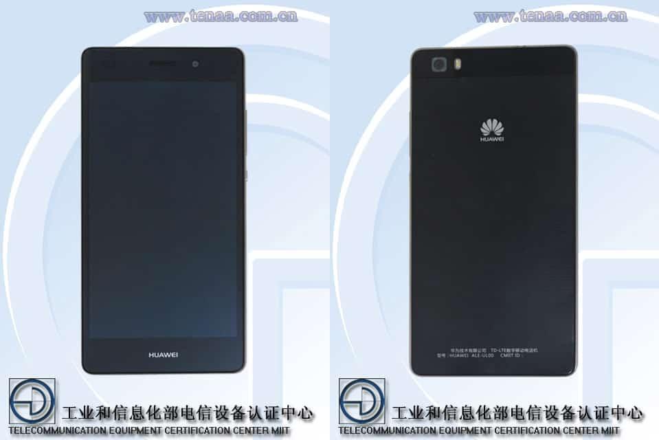 Huawei ALE-UL00 TENAA