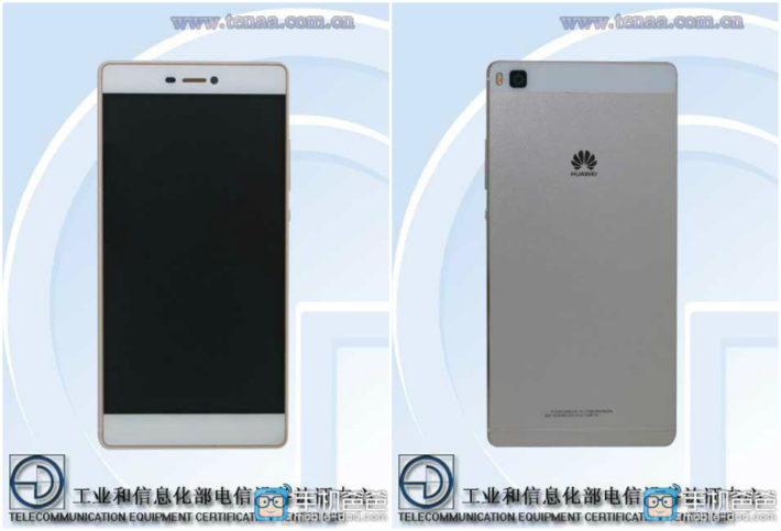 Huawei P8 Gets Certified By TENAA, Rumors Say It Will Sport A Fingerprint Scanner