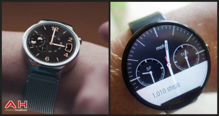 Android Wear Weekly: Moto 360 or the new Huawei Watch?