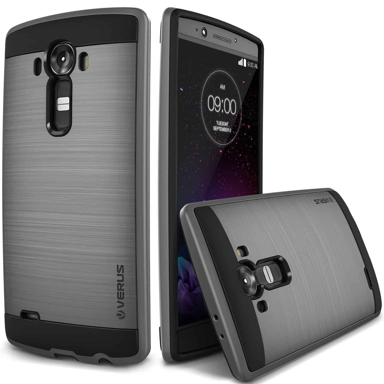 LG G4 Case Air Verge Dark Silver