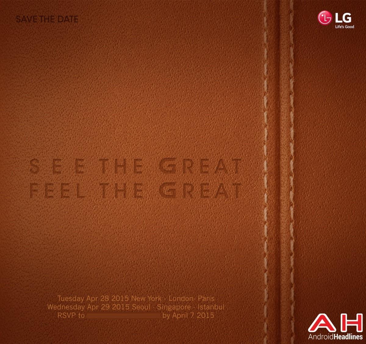 LG G4 Event Invite