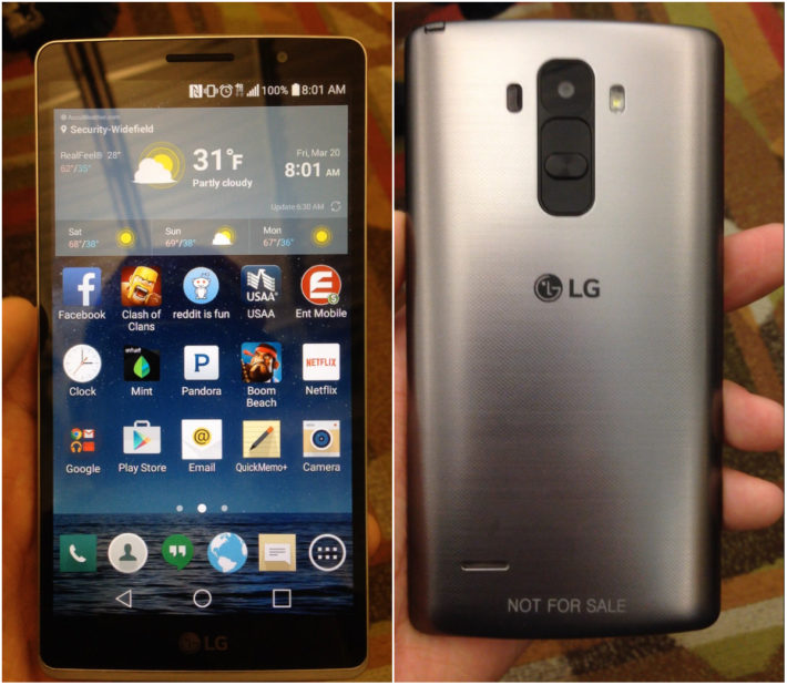 The Recently Leaked LG Handset Is A Mid-Ranger, Not The Upcoming G4 Flagship