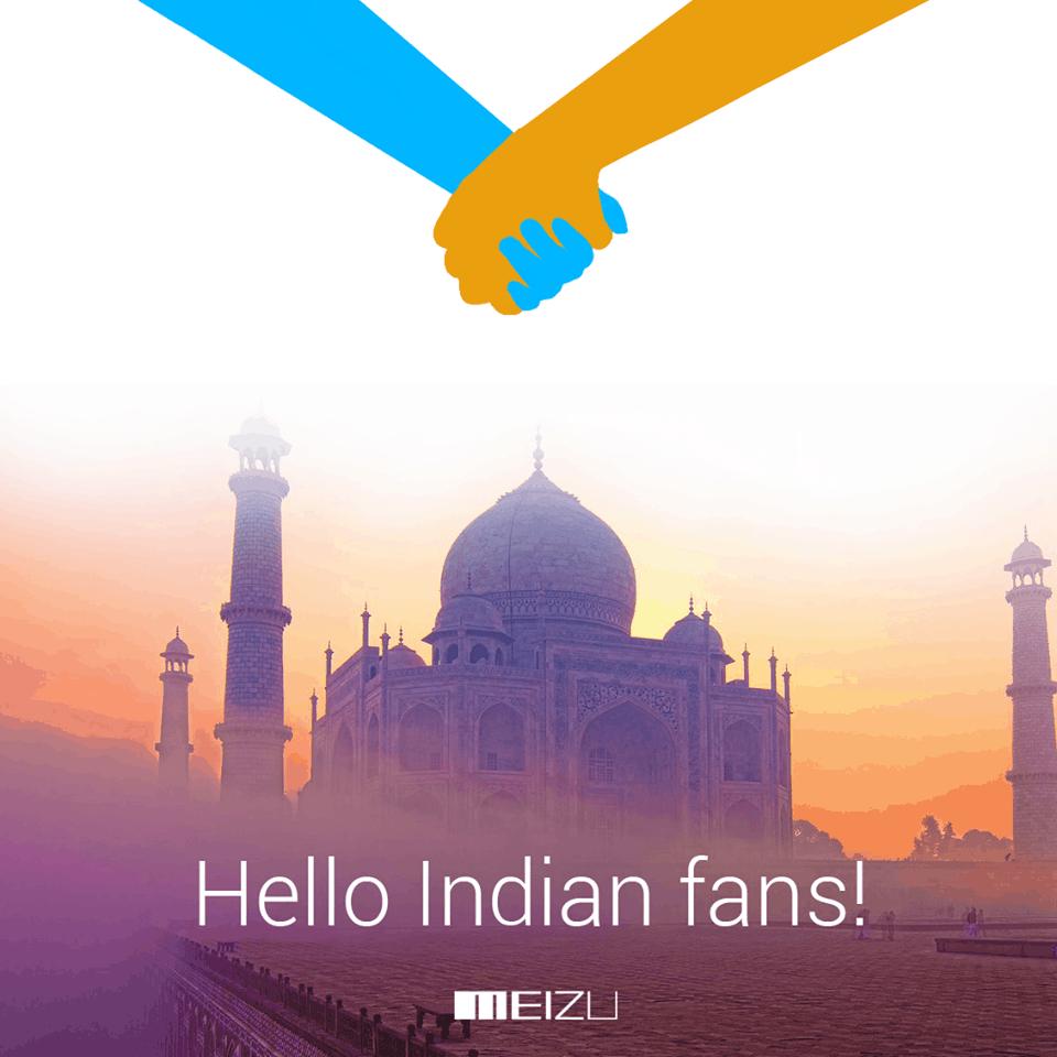 Meizu India teaser