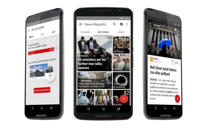 News Republic Gets Version 5.0 Update Bringing New Interface and Design