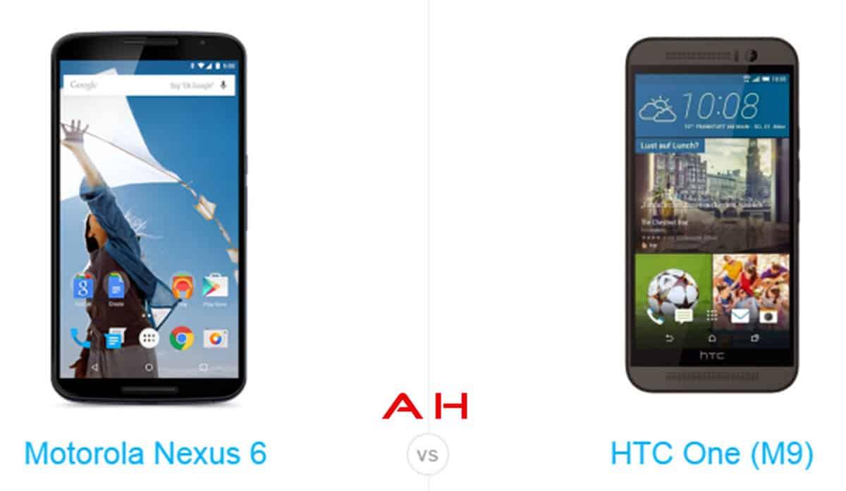 Nexus 6 vs HTC One M9 cam AH