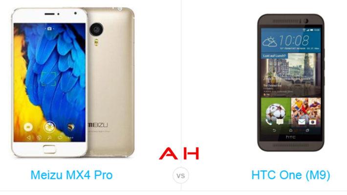 Phone Comparisons: Meizu MX4 Pro vs HTC One M9